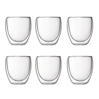 Bodum Pavina Dubbelwandig glas 0,25 L – 6 st.