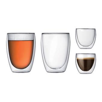 Bodum Pavina Dubbelwandige glazenset – 4 st. | Glas