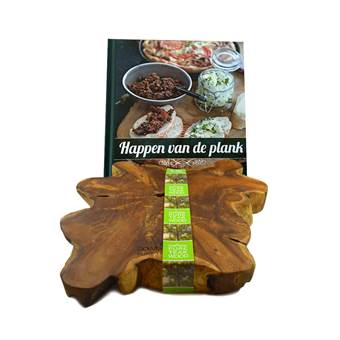 Bowls and Dishes Happen van de plank Giftset | Hout