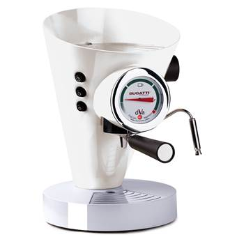 Bugatti Diva Halfautomatische Espressomachine | Aluminium, RVS