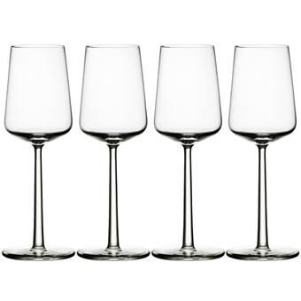 Iittala Essence Witte Wijnglazen 0,33 L – 4 st. | Glas