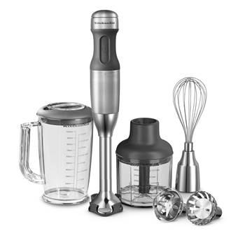 KitchenAid 5KHB2571ESX Staafmixer | Metaal, RVS