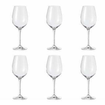 Leonardo City Barcelona Witte Wijnglas 0,4 L – 6 st.