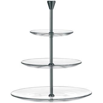 Leonardo Dinner Etagère | Glas, RVS