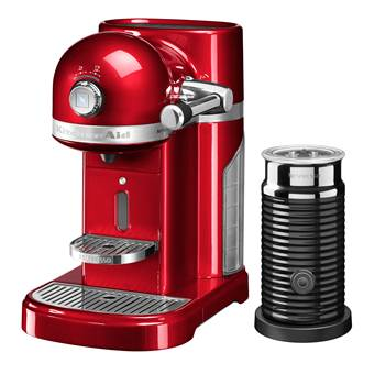Nespresso KitchenAid Artisan 5KES0504EER/3 + Melkopschuimer