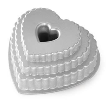 Nordic Ware Tiered Heart Bakvorm