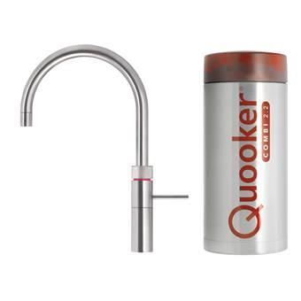 Quooker COMBI+ Fusion Round RVS Kokendwaterkraan