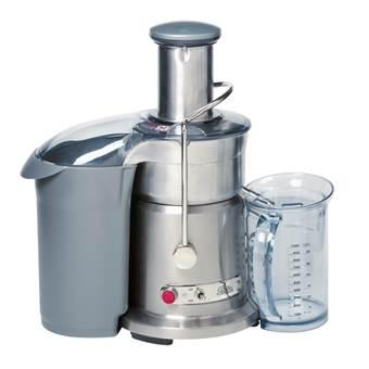 SOLIS Pro Type 843 Juice Fountain Sapcentrifuge | Aluminium, Kunststof, RVS