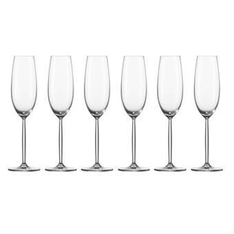 Schott Zwiesel Diva Champagne Flûte 0,22 L – 6 st. | Kristalglas