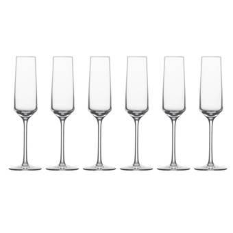 Schott Zwiesel Pure Champagneglazen 0,21 L – 6 st. | Kristalglas