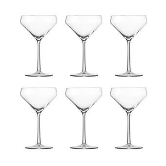 Schott Zwiesel Pure Martini Glazen 0,34 L – 6 st. | Kristalglas