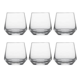Schott Zwiesel Pure Whiskeyglazen 0,39 L – 6 st. | Kristalglas