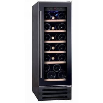 Temptech VWC300SB Single Zone Wijnkoelkast – 19 flessen