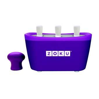 Zoku Quick Pop IJsmaker Triple | Kunststof