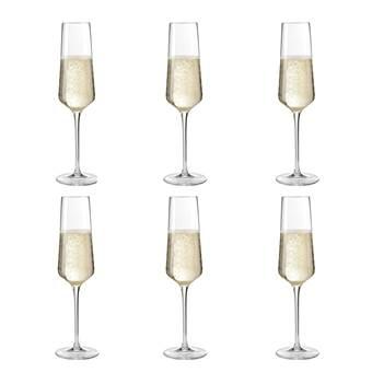 Leonardo Puccini Champagneglazen 0,28 L – 6 st.