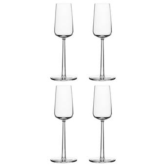 Iittala Essence Champagneglas 0,21 L – 4 st.