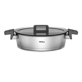 Woll Concept Induction Braadpan Ø 28 cm   RVS