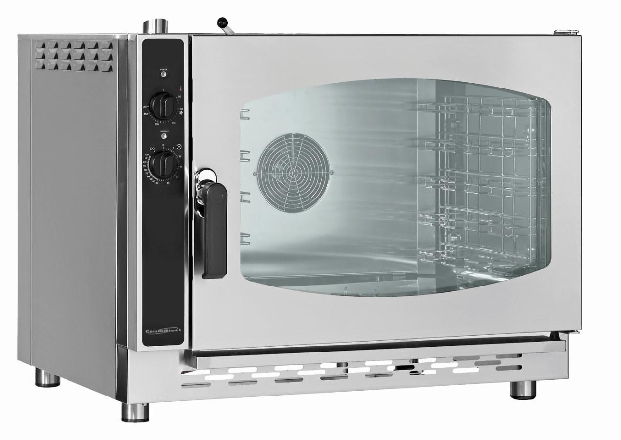 Convectie oven Combisteel, 5 x 1/1GN, 87(b)x60(h)x73(d), 230V/6300W | 7106622507569