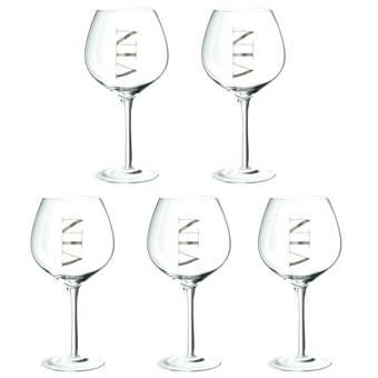 Dulaire Rode Wijnglas 0.5 L – 5 st.
