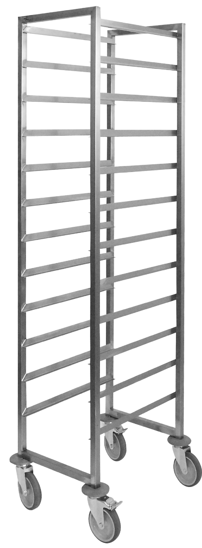 Regaalwagen Combisteel, voor 20 etages voor 60×40, 46(b)x60(d)x170(h) | 7106616092095