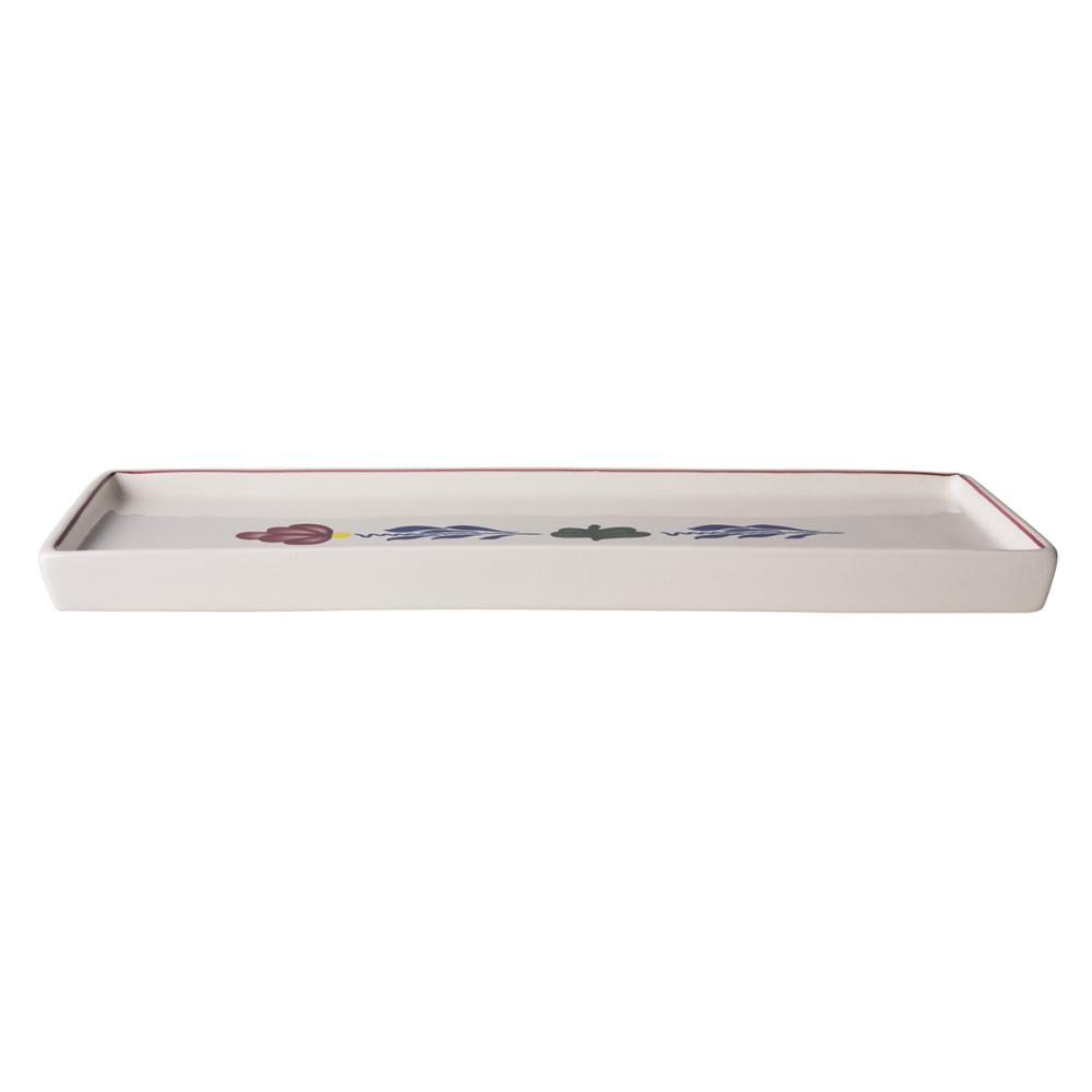 Boerenbont Cakeschaal 33x12 cm