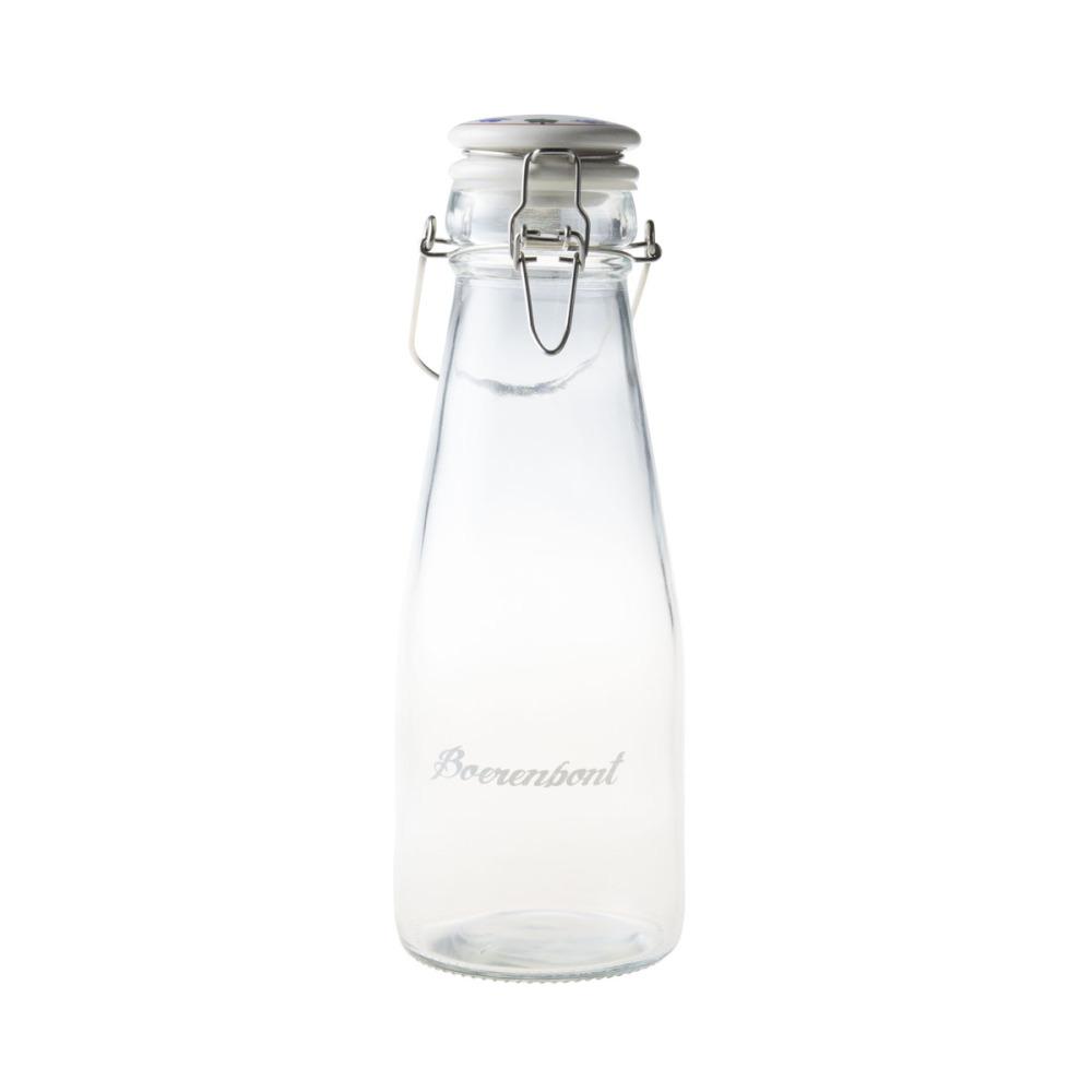 Boerenbont Fles met Deksel en Beugel 0