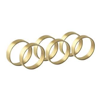 Broste Copenhagen Ring Servetringen – 6 st.