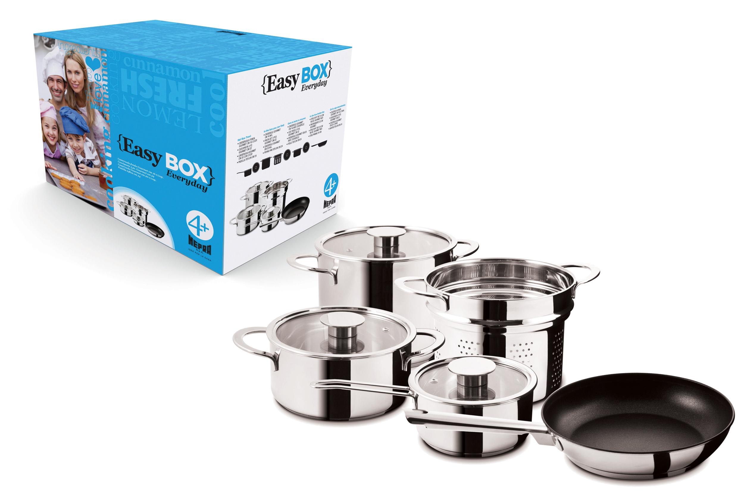 Easy Box 'Everyday / Gourmet' 4+   Mepra   0700953252791