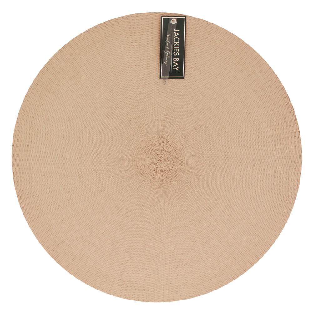 Jackies Bay Placemat Rond Roze
