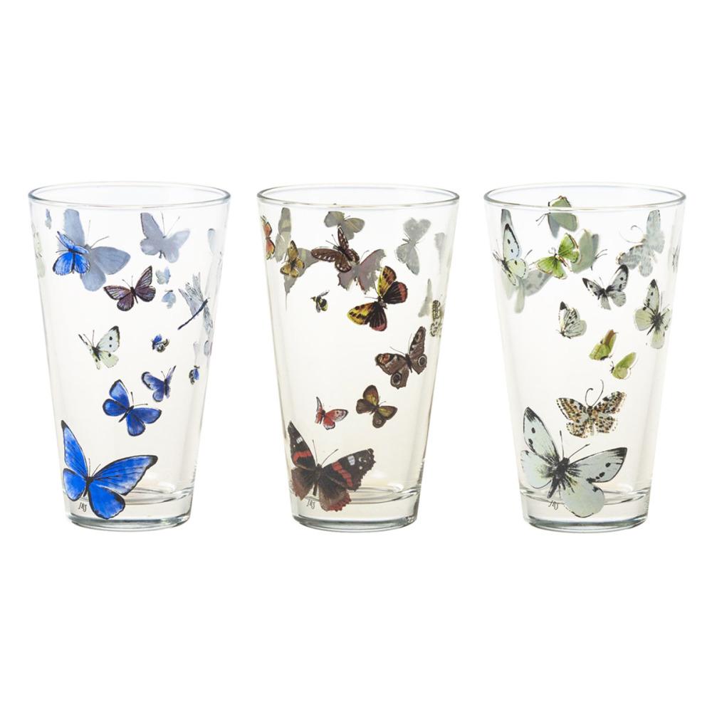 Janneke Brinkman Salentijn Vlinders Set van 12 Glazen 32 cl