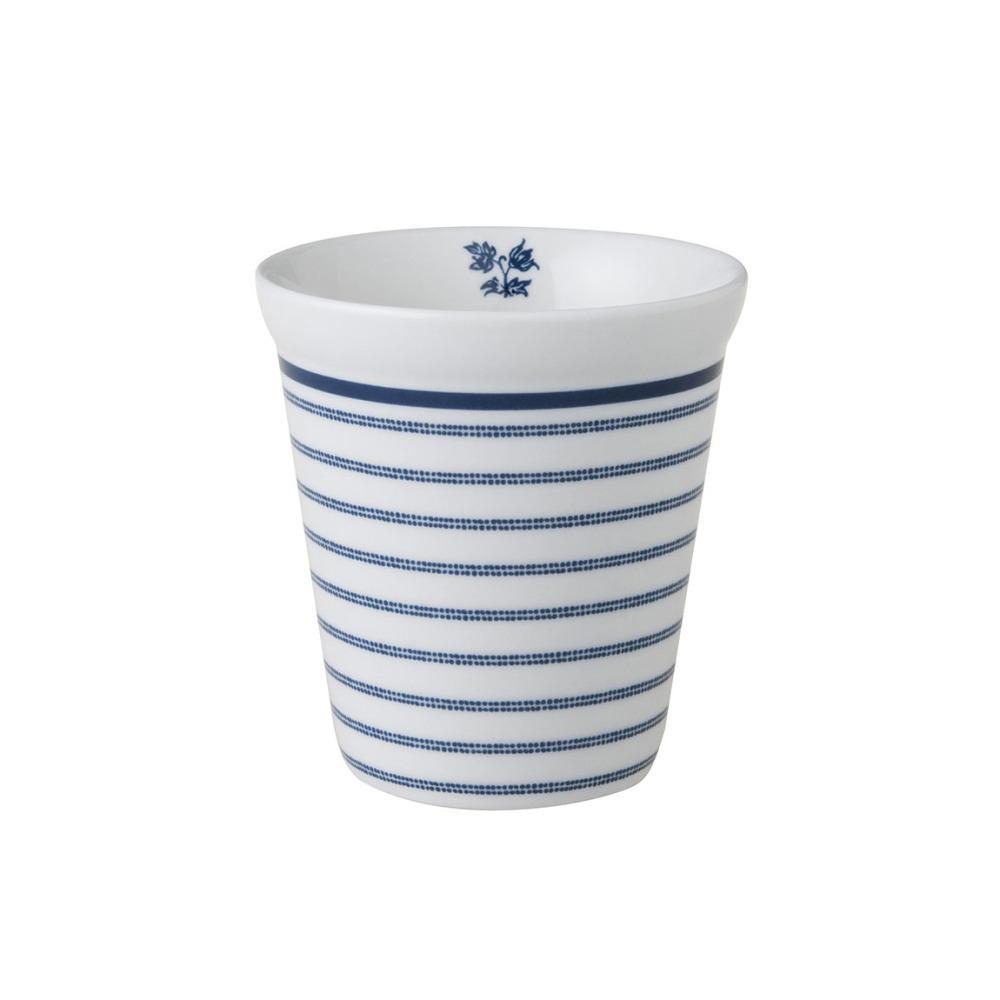 Laura Ashley Koffiemok zonder oor Candy Stripe 27 cl