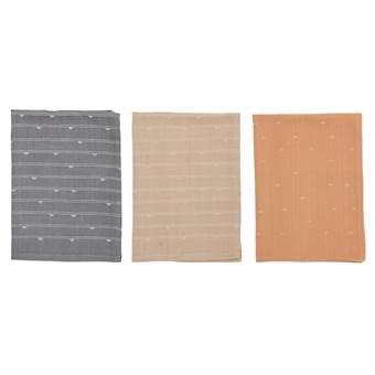 Bloomingville Handdoek 50 x 70 cm – 3 st. | Katoen