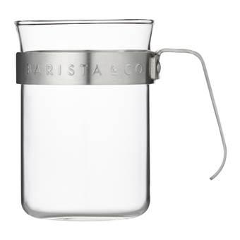 Barista & Co Koffieglazen – 2 st. | Glas, RVS