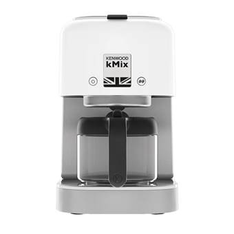 Kenwood kMix COX750WH Filter Koffiezetapparaat | Glas, RVS