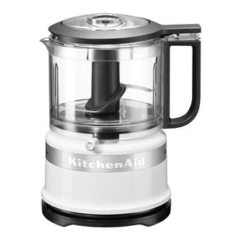 KitchenAid 5KFC3516SEWH Classic Hakmolen | Kunststof, Metaal, RVS