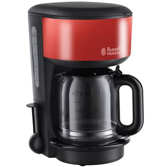 Russell Hobbs Colours Flame Red Filter Koffiezetapparaat