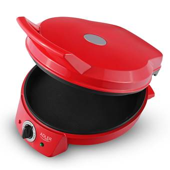 Adler AD 3033 – Grill – pizza oven – rood