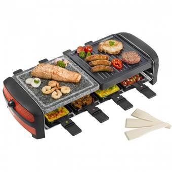 Bestron ARC800 8persoon/personen 1400W Zwart raclette