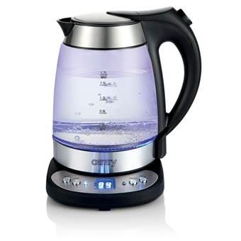 Camry CR 1242 – Waterkoker – glas RVS – temperatuur controle