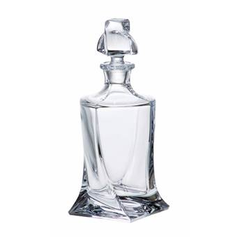 Crystalite Quadro likeur of whisky karaf 500ml