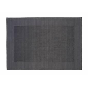 Home Delight Placemat Stina donker grijs 32x47cm set/6