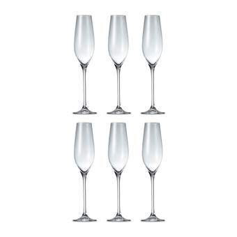Salt & Pepper Cuvee Champagneglazen 0,21 L – 6 st. | Glas