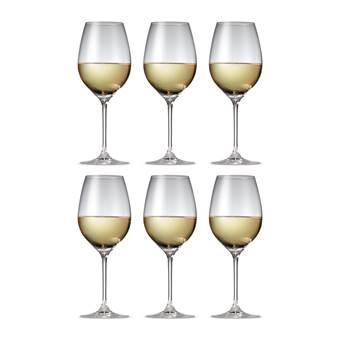 Salt & Pepper Cuvee Witte Wijnglazen 0,47 L – 6 st. | Glas