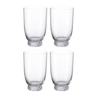 Villeroy & Boch Montauk Waterglas 0,39 L – 4 st.   Glas
