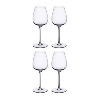 Villeroy & Boch Purismo Witte Wijnglazen 0,4 L – 4 st. | Glas