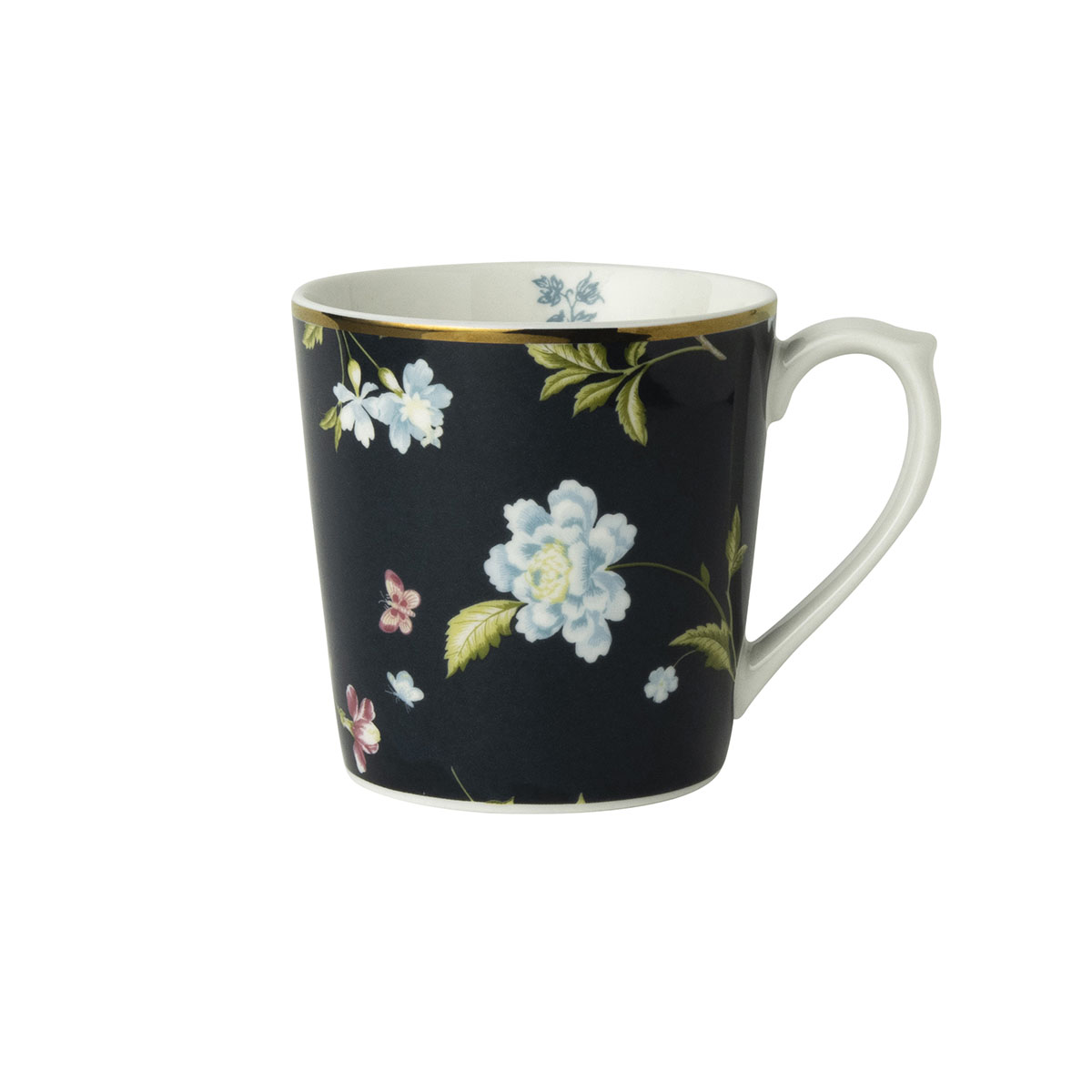 Laura Ashley Heritage Beker Midnight Uni 35 cl